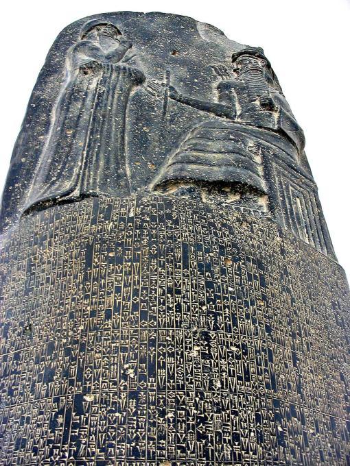 stela lui hammurabi