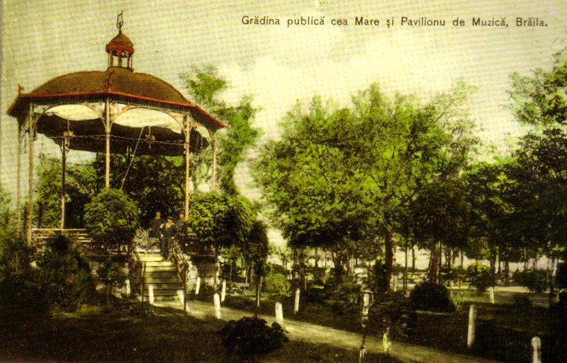 GRADINA PUBLICA PAVILIONUL DE MUZICA
