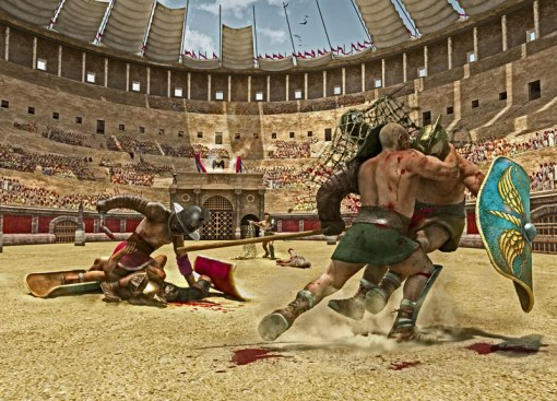 gladiatorii in coloseum