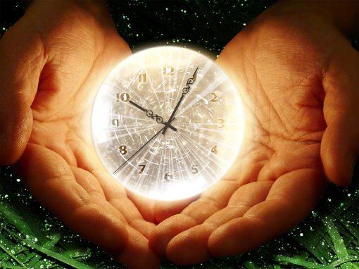 timpul este o iluzie in mana noastra
