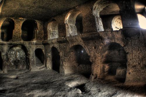 cappadocia ,unul din multele orase subterane