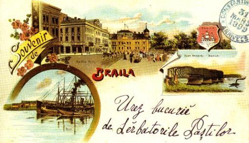 CARTE POSTALA 1899