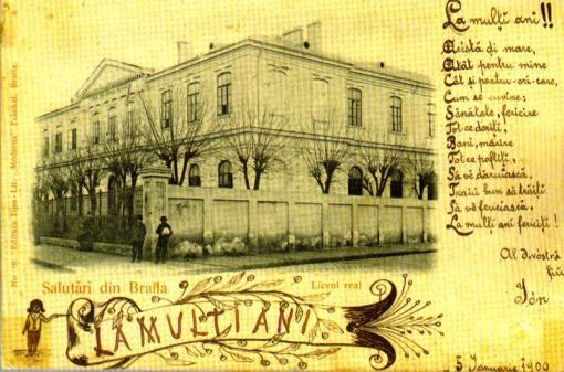 CARTE POSTALA 1900