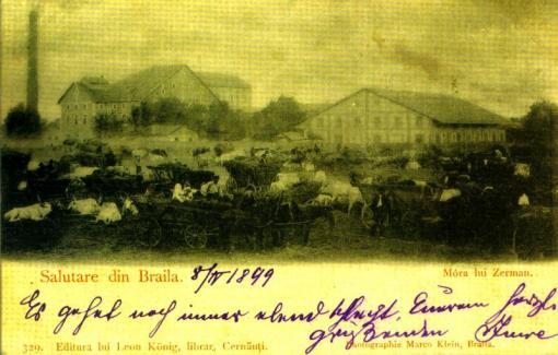 CARTIERUL TIGANESC 1849