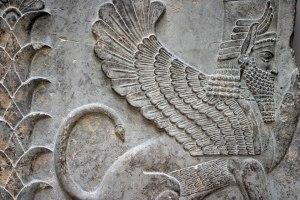 Sumerian-Hybrid-Winged-Sphinx