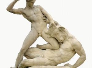 tezeu ucide minotaurul