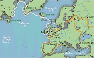 Vikingii in istorie
